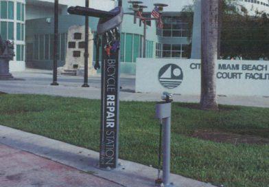 Bicycle Repair Station, Miami Beach Pilot Program