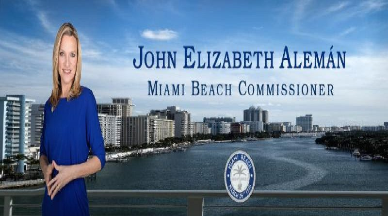 Commissioner John E. Aleman April 2018 Newsletter