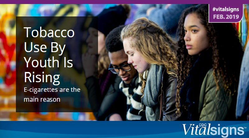 Tobacco Use By Youth Is Rising  E-cigarettes are the main reason